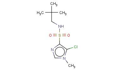 5-CHLORO-N-(2,2-DIMETHYLPROPYL)-1-METHYL-1H-IMIDAZOLE-4-SULFONAMIDE