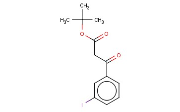 BETA-OXO-3-IODO-BENZENEPROPANOIC ACID 1,1-DIMETHYLETHYL ESTER