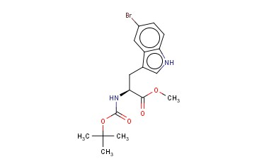 METHYL (S)-2-(BOC-AMINO)-3-(5-BROMO-3-INDOLYL)PROPANOATE
