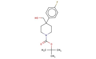 TERT-BUTYL 4-(4-FLUOROPHENYL)-4-(HYDROXYMETHYL)PIPERIDINE-1-CARBOXYLATE