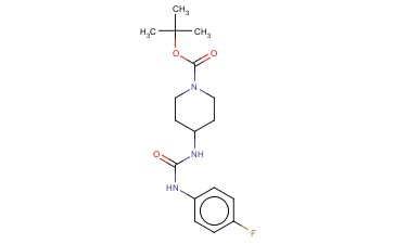 TERT-BUTYL 4-[3-(4-FLUOROPHENYL)UREIDO]PIPERIDINE-1-CARBOXYLATE