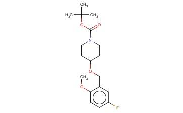 TERT-BUTYL 4-[(5-FLUORO-2-METHOXYBENZYL)OXY]PIPERIDINE-1-CARBOXYLATE