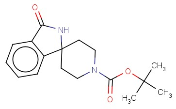 TERT-BUTYL 3-OXOSPIRO[ISOINDOLINE-1,4'-PIPERIDINE]-1'-CARBOXYLATE