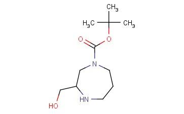 TERT-BUTYL 3-(HYDROXYMETHYL)-1,4-DIAZEPANE-1-CARBOXYLATE