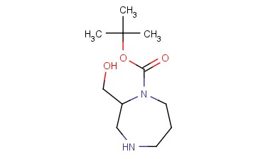 TERT-BUTYL 2-(HYDROXYMETHYL)-1,4-DIAZEPANE-1-CARBOXYLATE