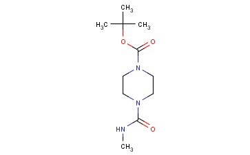 TERT-BUTYL 4-(METHYLCARBAMOYL)PIPERAZINE-1-CARBOXYLATE