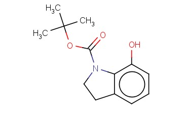 1H-INDOLE-1-CARBOXYLIC ACID,2,3-DIHYDRO-7-HYDROXY-1,1-DIMETHYLETHYL ESTER