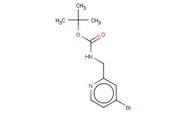 (4-BROMO-PYRIDIN-2-YLMETHYL)-CARBAMIC ACID TERT-BUTYL ESTER