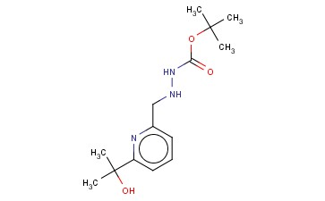 TERT-BUTYL 2-((6-(2-HYDROXYPROPAN-2-YL)PYRIDIN-2-YL)METHYL)HYDRAZINECARBOXYLATE