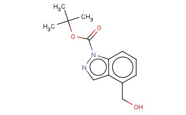 TERT-BUTYL 4-(HYDROXYMETHYL)-1H-INDAZOLE-1-CARBOXYLATE
