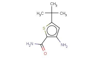 3-AMINO-5-(TERT-BUTYL)THIOPHENE-2-CARBOXAMIDE