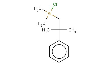 CHLORODIMETHYL(2-METHYL-2-PHENYLPROPYL)SILANE