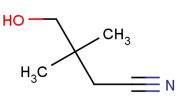 4-HYDROXY-3,3-DIMETHYLBUTANENITRILE