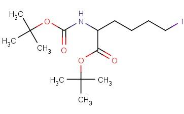 DL-Norleucine, N-[(1,1-dimethylethoxy)carbonyl]-6-iodo-, 1,1-dimethylethyl ester