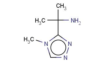 2-(4-METHYL-4H-1,2,4-TRIAZOL-3-YL)PROPAN-2-AMINE