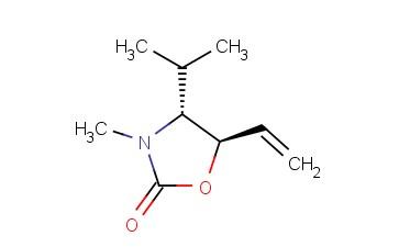 2-OXAZOLIDINONE, 5-ETHENYL-3-METHYL-4-(1-METHYLETHYL)-, TRANS-