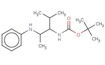 (1-ISOPROPYL-2-PHENYLAMINO-PROPYL)-CARBAMIC ACID TERT-BUTYL ESTER