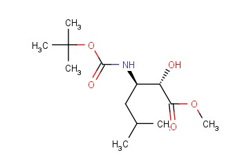 (2S,3R)-METHYL 3-(TERT-BUTOXYCARBONYLAMINO)-2-HYDROXY-5-METHYLHEXANOATE
