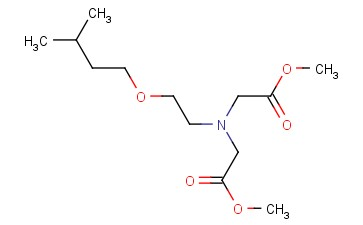 METHYL 2-[(2-METHOXY-2-OXOETHYL)[2-(3-METHYLBUTOXY)ETHYL]AMINO]ACETATE