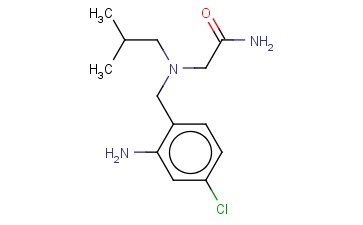 2-([(2-AMINO-4-CHLOROPHENYL)METHYL](2-METHYLPROPYL)AMINO)ACETAMIDE