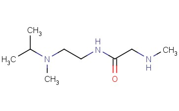 N-(2-[METHYL(PROPAN-2-YL)AMINO]ETHYL)-2-(METHYLAMINO)ACETAMIDE