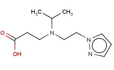 3-[(PROPAN-2-YL)[2-(1H-PYRAZOL-1-YL)ETHYL]AMINO]PROPANOIC ACID