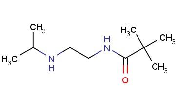 2,2-DIMETHYL-N-[2-[(1-METHYLETHYL)AMINO]ETHYL]-PROPANAMIDE