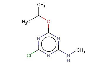 4-CHLORO-N-METHYL-6-(PROPAN-2-YLOXY)-1,3,5-TRIAZIN-2-AMINE