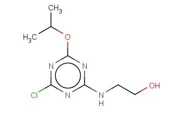 2-([4-CHLORO-6-(PROPAN-2-YLOXY)-1,3,5-TRIAZIN-2-YL]AMINO)ETHAN-1-OL