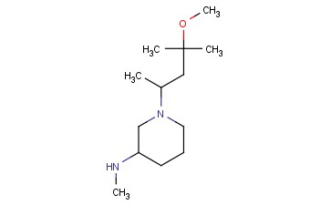 1-(4-METHOXY-4-METHYLPENTAN-2-YL)-N-METHYLPIPERIDIN-3-AMINE