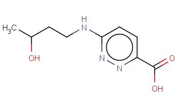 6-[(3-HYDROXYBUTYL)AMINO]PYRIDAZINE-3-CARBOXYLIC ACID