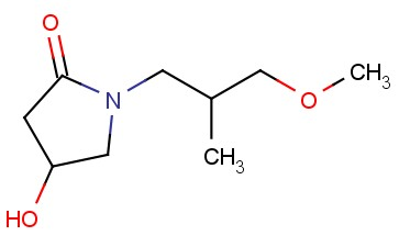 4-HYDROXY-1-(3-METHOXY-2-METHYLPROPYL)PYRROLIDIN-2-ONE