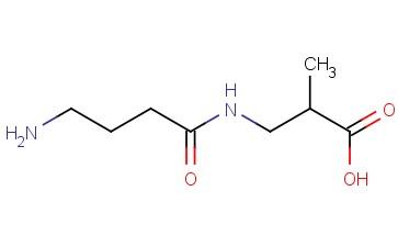 3-(4-AMINOBUTANAMIDO)-2-METHYLPROPANOIC ACID