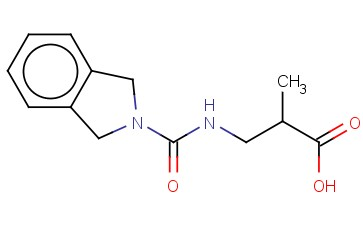 3-([(2,3-DIHYDRO-1H-ISOINDOL-2-YL)CARBONYL]AMINO)-2-METHYLPROPANOIC ACID
