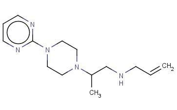 (PROP-2-EN-1-YL)((2-[4-(PYRIMIDIN-2-YL)PIPERAZIN-1-YL]PROPYL))AMINE