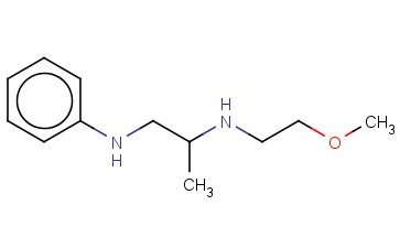 (2-METHOXYETHYL)[1-(PHENYLAMINO)PROPAN-2-YL]AMINE