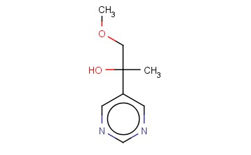 1-METHOXY-2-(PYRIMIDIN-5-YL)PROPAN-2-OL