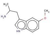 (1H-Indole-3-ethanamine,5-methoxy-a-methyl-)