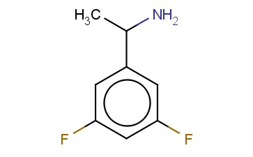 (<span class='lighter'>RS</span>)-1-(3,5-DIFLUOROPHENYL)ETHYLAMINE