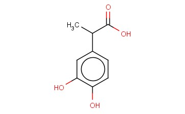 2-(3,4-DIHYDROXYPHENYL)PROPANOIC ACID