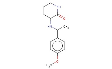3-([1-(4-METHOXYPHENYL)ETHYL]AMINO)PIPERIDIN-2-ONE