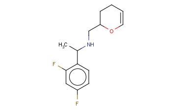 [1-(2,4-DIFLUOROPHENYL)ETHYL](3,4-DIHYDRO-2H-PYRAN-2-YLMETHYL)AMINE