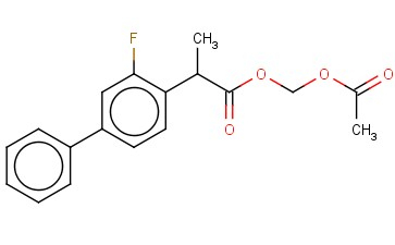 ACETOXYMETHYL 2-(2-FLUORO-4-BIPHENYLYL)PROPIONATE