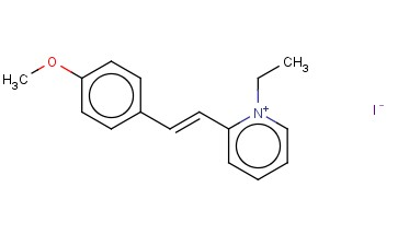 1-ETHYL-2-(4-METHOXYSTYRYL)PYRIDINIUM IODIDE