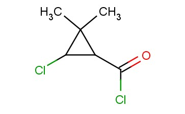 3-CHLORO-2,2-DIMETHYL-CYCLOPROPANECARBONYL CHLORIDE