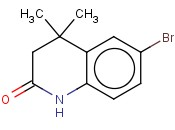6-Bromo-4,4-dimethyl-3,4-dihydroquinolin-2(1H)-one