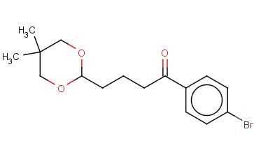 4'-BROMO-4-(5,5-DIMETHYL-1,3-DIOXAN-2-YL)BUTYROPHENONE