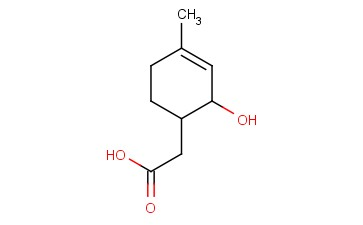 2-(2-HYDROXY-4-METHYLCYCLOHEX-3-EN-1-YL)ACETIC ACID