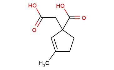 1-(CARBOXYMETHYL)-3-METHYLCYCLOPENT-2-ENE-1-CARBOXYLIC ACID