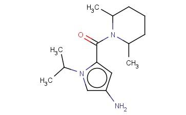 5-[(2,6-DIMETHYLPIPERIDIN-1-YL)CARBONYL]-1-(PROPAN-2-YL)-1H-PYRROL-3-AMINE